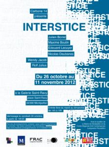Affiche de l'exposition 2012